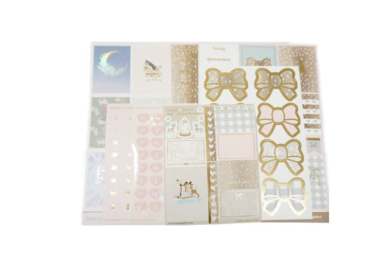 LUXE STICKER KIT - FAWN'D MEMORIES set