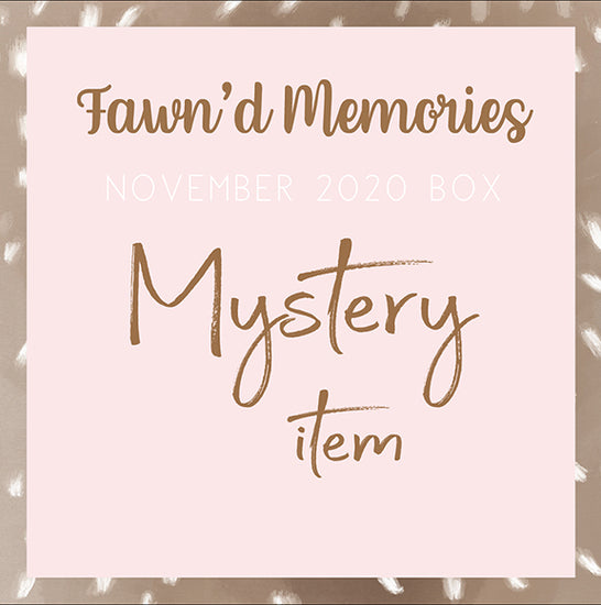 MYSTERY ITEM - FAWN'D MEMORIES