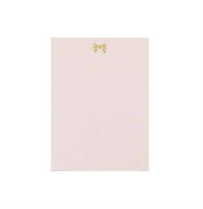 STICKY NOTES - FAWN'D MEMORIES in Micro dot Pink + light gold