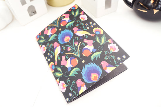 FOLKTALE B6 Notebook Insert + gold (Mystery Monday)