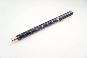 PEN - FOLKTALE BOW PRINT + gold hardware (Mystery Monday)