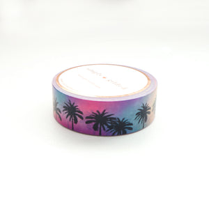 WASHI 15mm - Funky & Fresh PALMS (Mystery Monday)