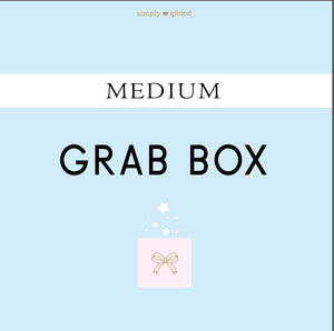 MEDIUM GRAB BOX - sold AS IS - LIMIT 1