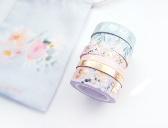 HELLO DAHLIANG - FULL WASHI SET & POUCH (Hello Dahliang)