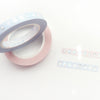 PERFORATED WASHI TAPE 6mm set of 2 - HYDRATION droplets + sparkling holographic