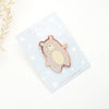 PIN - JASPER THE BEAR Enamel pin + rose gold