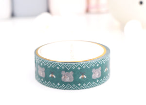 WASHI TAPE 15mm JASPER SWEATER BEAR (August 2 release)