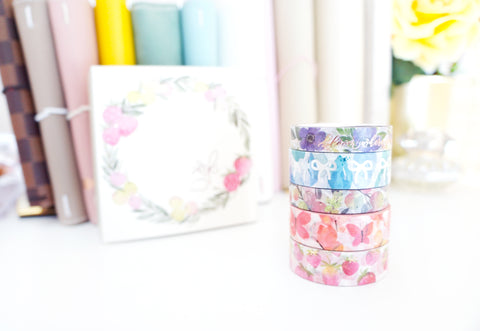 BOX SET - Simply Gilded x JESHYPARK washi tape collaboration -  (jeshypark)
