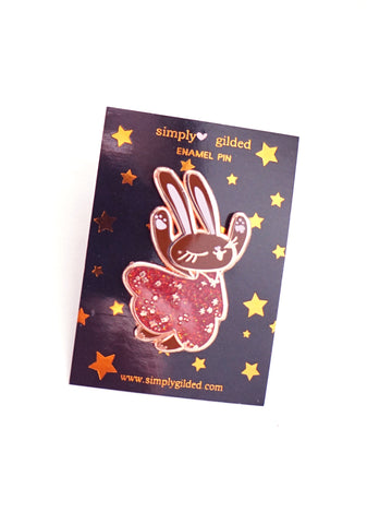 PIN - Celebration JUNIPER with GLITTERY DRESS + ROSE gold hardware (Black Friday 19 Release)