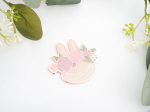 MAGNET - FAWN JUNIPER WITH FLORAL CROWN + rose gold hardware (confections release)