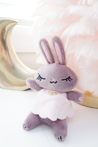 PLUSH - JUNIPER THE BUNNY + CHOCOLATE MAUVE (September Release)