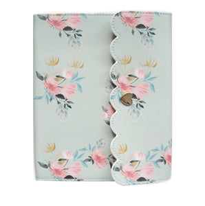 LARGE ALBUM - Sage Floral + light gold hardware