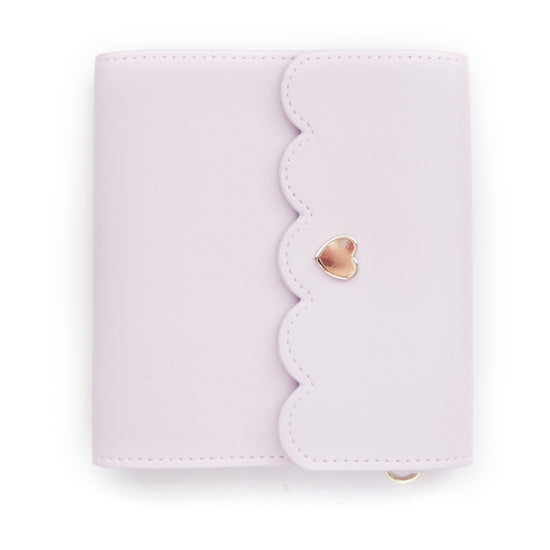 MINI STICKER BOOK - LOVELY LILAC + lt. gold hardware