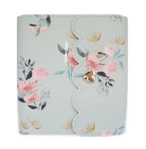 MINI ALBUM - Sage Floral + light gold hardware