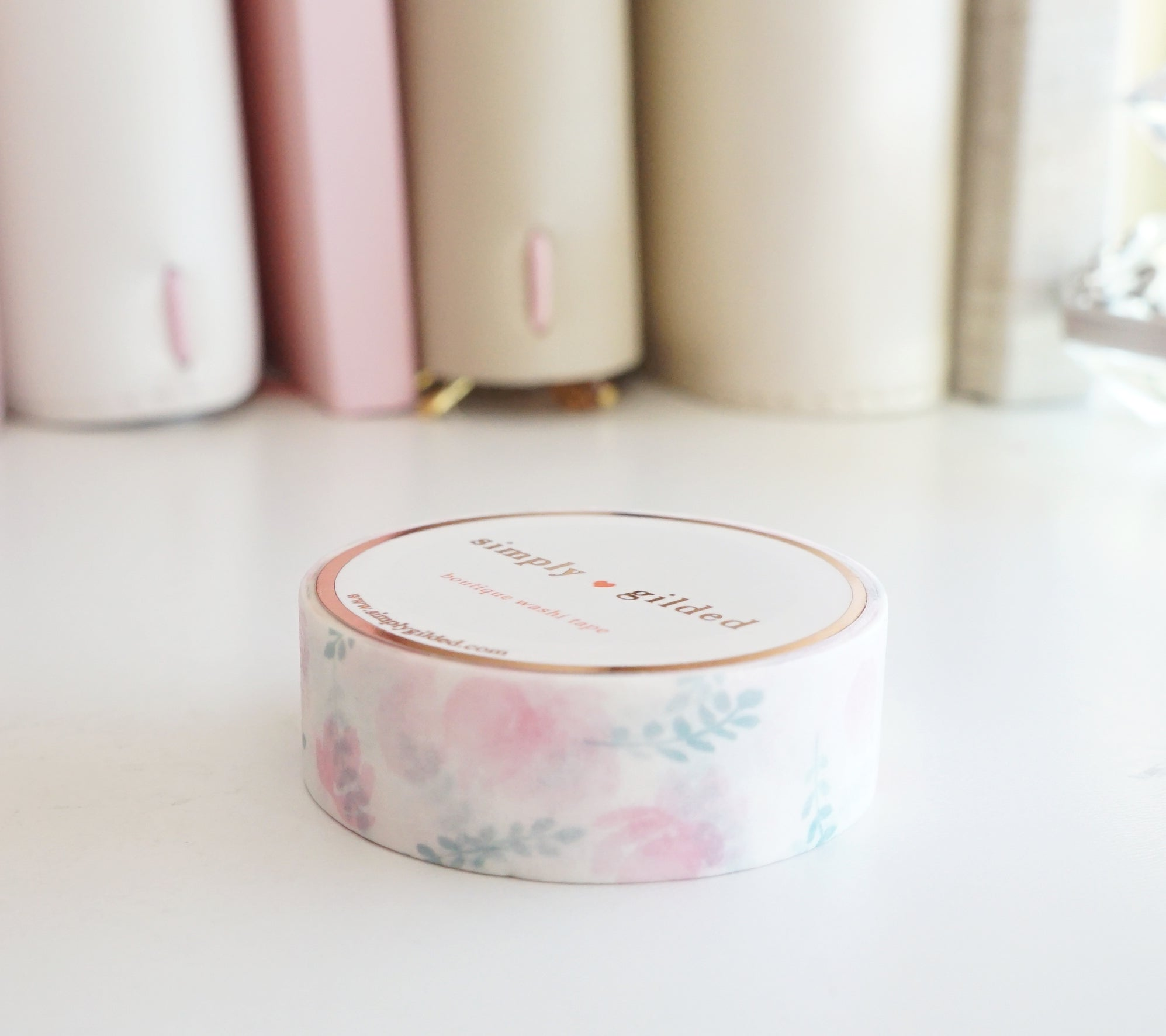 WASHI TAPE 15mm - Simplicity TULIP (Mystery Monday)