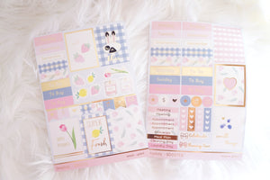 LUXE STICKER set - SIMPLICITY set and SD27S mini sticker sheet (Mystery Monday)