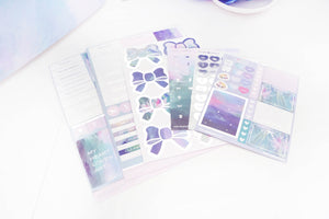LUXE STICKER set - MASTERPIECE luxe stickers, mini sheets and heart seals + silver foil (Masterpiece)