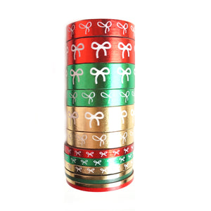 BUNDLE - METALLIC ORNAMENT (set of 5) - LIMIT OF 1