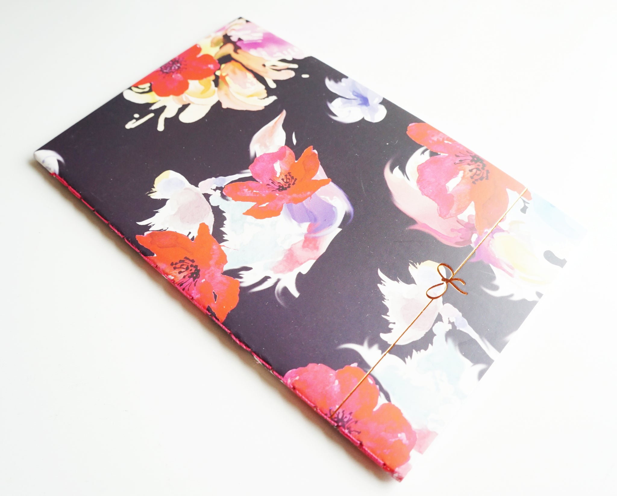 NOTEBOOK - OCTOBER pocket sized notebook (Fantasy Floral)