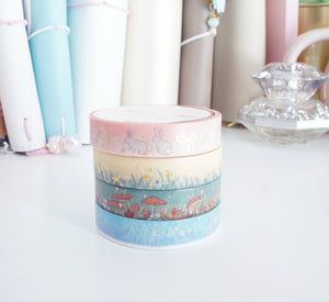 SKINNY 10mm - Pigeon Paper Co washi tape collaboration - 10mm SET