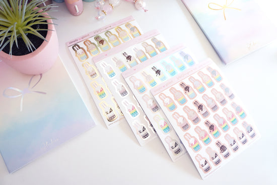 PX10 Juniper xoxo WASHI sticker sheet