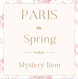MYSTERY ITEM - Paris in Spring