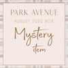 PARK AVENUE BOX - full STANDALONE BOX  August