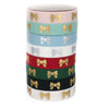 BUNDLE Washi - PUFFY Bow + GLITTER Overlay (4 sets)
