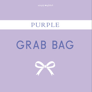 PURPLE GRAB BAG - sold AS IS - LIMIT 2