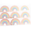LABEL SEALS - RAINBOW + ROSE GOLD foil