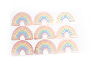 LABEL SEALS - RAINBOW + ROSE GOLD foil (February 28 Release)
