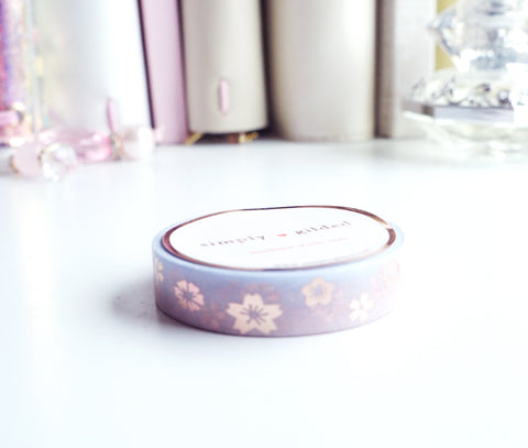 WASHI TAPE 10mm -  Sakura SCATTERING BLOOM (Mystery Monday)