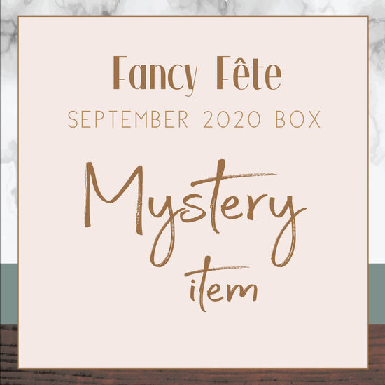 FANCY FETE BOX - full STANDALONE BOX  September