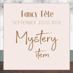 FANCY FETE - Mystery Item