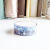 WASHI TAPE 15mm SNOW DEER 3.0 + silver hologram foil