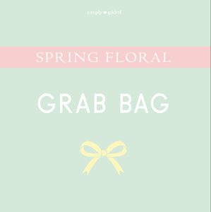 SPRING FLORAL GRAB BAG - sold AS IS - LIMIT 2