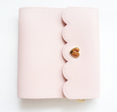 MINI STICKER BOOK - CLASSIC PINK + gold hardware (Restock)