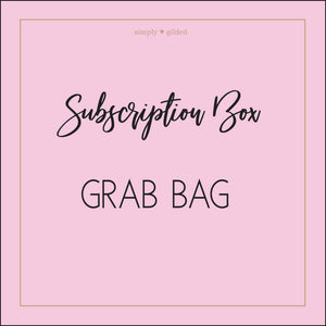 SUB Box OOPS GRAB BAGS- sold AS IS  (grab bag) - Limit 1