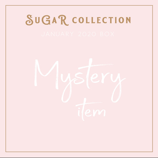 MYSTERY ITEM - Sugar Collection - Heart shaped vegan leather coaster