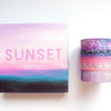 BOX SET of 4 - Sunset Charm Galaxy Collection 16.0 + silver holographic