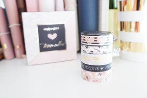 BOX SET - Simply Gilded x TERESA COLLINS washi tape collaboration SET -  (Teresa Collins)