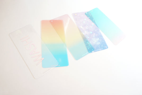 OOPS Washi Cards - sold AS IS - holographic foil set A (washi cards)