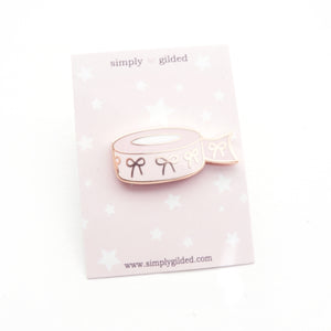 PIN - Pink Bow WASHI Tape + ROSE GOLD hardware (Spring Release)