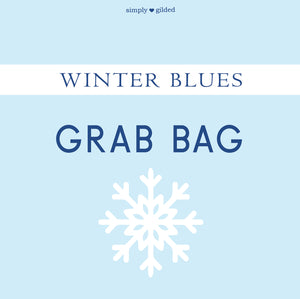 WINTER BLUES GRAB BAG - sold AS IS - LIMIT 2