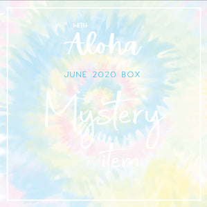 NAIL DECALS - With Aloha (Mystery Monday)