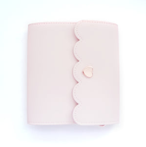 MINI STICKER BOOK - CLASSIC PINK + rose gold hardware