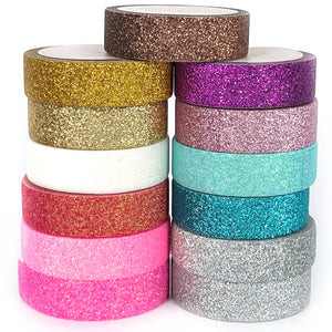 WASHI 15mm - GLITTER - YOU PICK Set