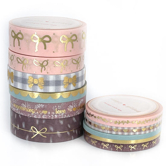 FULL WASHI BAG - FAWN'D MEMORIES washi set
