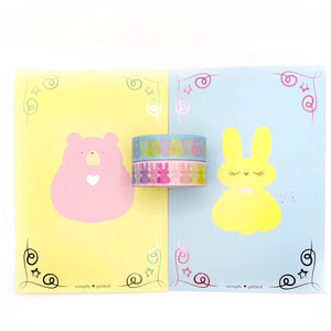 BUNDLE - Spring Marshmallow (2 15mm and 2 Journal Cards)