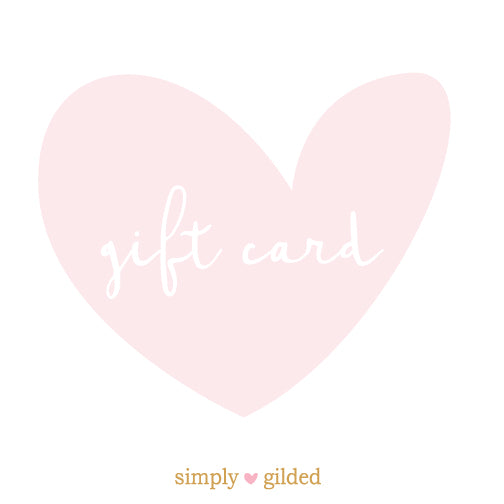 simply gilded Gift Card